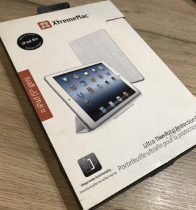 чехол книжка обложка для iPad Air 2 - Silk P белый
