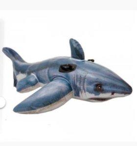 Акула надувная