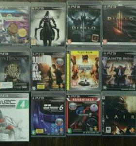 Sony PlayStation 3. Диски с играми