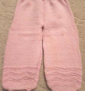 Новые штанишки ручной вязки