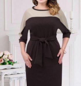 Платье НОВОЕ  размер  56-58