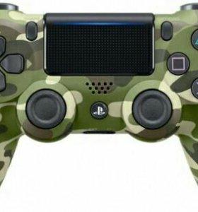 НОВЫЙ Sony Dualshock 4 для PlayStation 4 камуфляж)