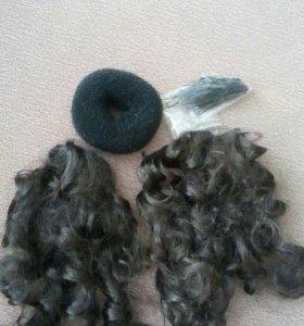Пряди накладных волос