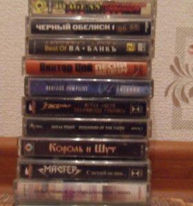Кассеты Рок, метал, Ска, итд