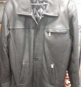 Куртка муж. Кожа 100%