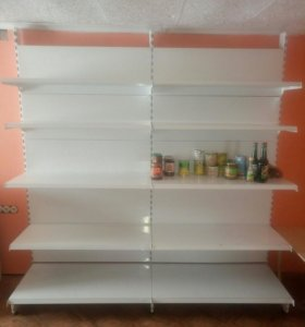 Холодильник, шкаф, стелажи, прилавки, полки сетки,