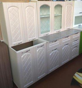 Кухня Хлоя 1,8 (лён белый )