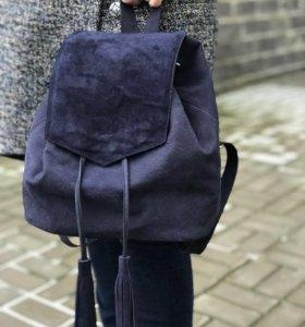 Женский рюкзак из натурального нубука