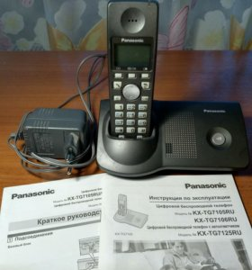 Радиотелефон panasonic kx-tg7105ru