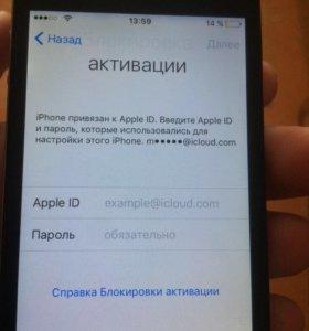 Айфон 4с на 16г
