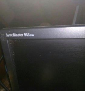 Монитор samsung syncmaster 943 bw