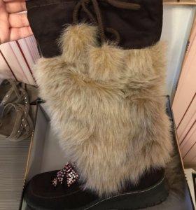 Сапоги зимние 40 размер