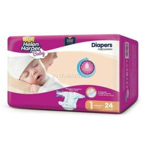 Памперсы. Подгузники Helen Harper Baby 1 newborn