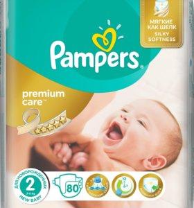 Подгузники Pampers Premium Care 2 (80шт)