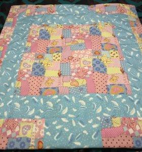 Ласкуточное детское одеяло