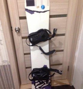 Продам сноуборд 153см