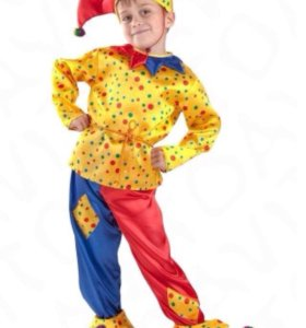 Маскарадный костюм Петрушка