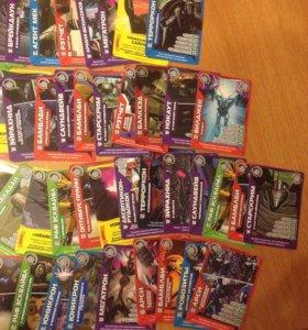 Игровые карточки Трансформеры