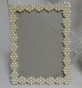 Рамочка для свадебного фото.