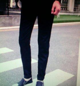 Продам мужские черные брюки