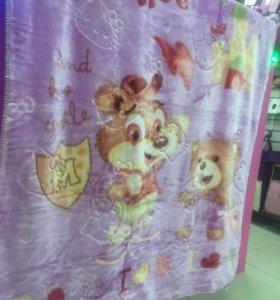 Детское двустороннее одеяло