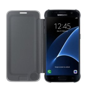 Чехол Clear View Cover Galaxy S7