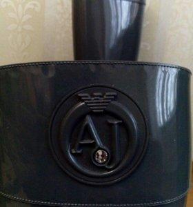 Резиновые теплые сапожки от Armani Jeans