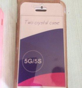 Двухсторонний чехол iPhone 5s