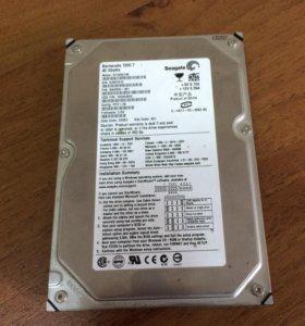 Жесткий диск 3.5 40gb IDE
