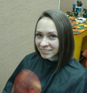 Шатуш'омбре'Окраска волос