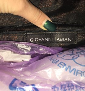 Сумка кожаная Giovanni Fabiani