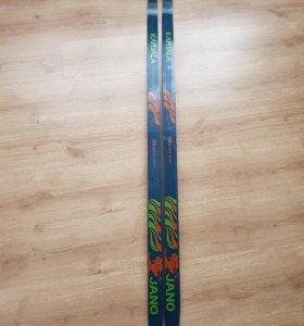 Лыжи деревянные