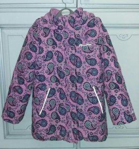 Пальто outventure утепленное р. 104 для девочки