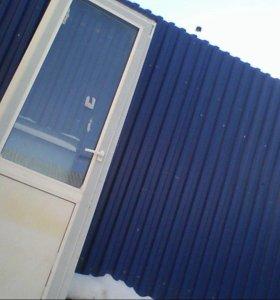 окна двери.