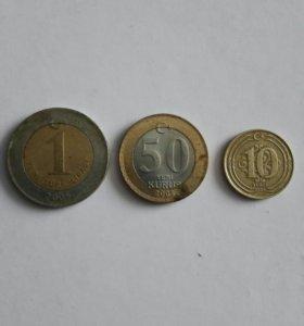 Монеты турция