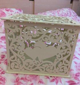 Свадебная денежная коробка на свадьбу