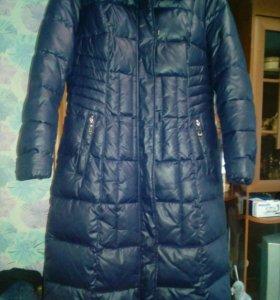 Пальто женское р-р XL,сост идеальное,