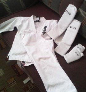 Кимоно + защита на ноги и руки