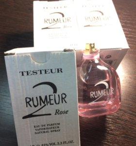 Тестер оригинал Ланвин Румер 🌹2 Розе 100мл
