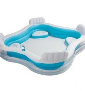 Надувной бассейн Intex Семейный 233 л