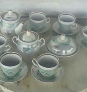 Чайный фарфоровый сервиз Барановичи, 70-е годы