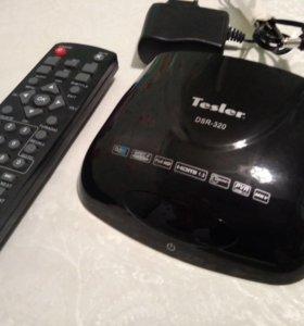 Цифровой приёмник TESLER DVB-T/T2