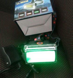 Налобный Led фонарик