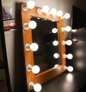 Гримерное зеркало, 13 LED ламп