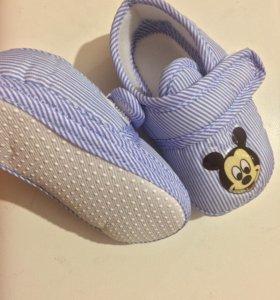 Детская обувь, пинетки