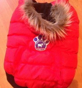 Теплая попона- куртка