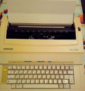 Электрическая пишущая машинка samsung. Торг.