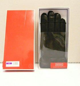 Перчатки муж-е кожанные р-р.XL Подарочная упаковка