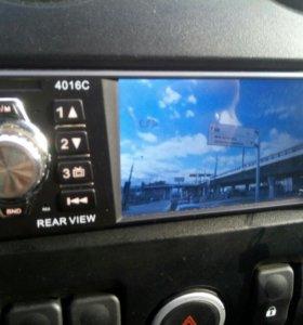 Магнитола с видео.
