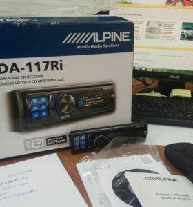 Процессорный Alpine cda-117ri